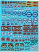 dmcsp105   Decal Ass.Texaco ,