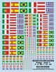 dcd008 - Decals Flags , Bandiere 