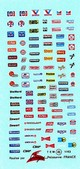 dev45    Decal assortite USA